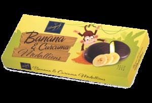 Dragulj Medaljoni banana i kurkuma