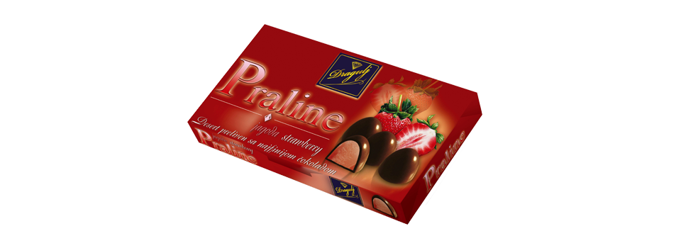 Strawberry Pralines