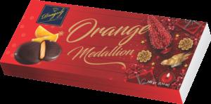 ORANGE MEDALLIONS NEW YEAR SLEEVES 145G
